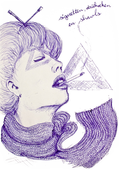 sigaretten-driehoeken-shawls